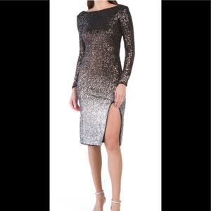 Gorgeous ombré dress